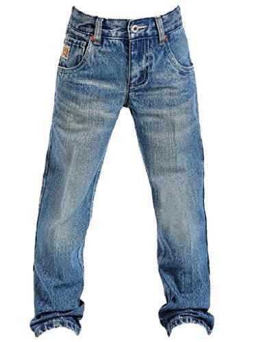 Cinch Boys' Tanner Slim Cut Jeans 8-18 Denim 18