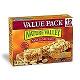 Nature Valley Granola Bars, Sweet and Salty Nut, Peanut, 12 Bars - 1.2 oz