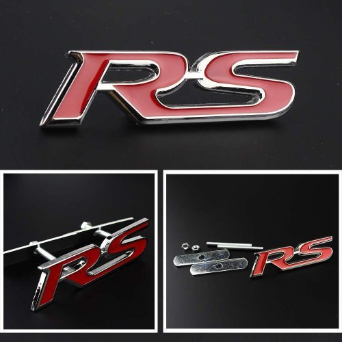 (Rs Car Front Grille Badge Emblem for Rennsport or Rally Sport)