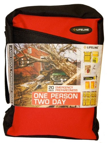Lifeline First Aid One Person Two Day Emergency Preparedness Kit by Lifeline