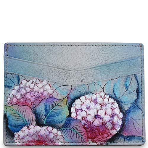 Anuschka Women's Genuine Leather Credit Card Case