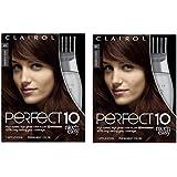 Clairol Perfect 10 By Nice 'N Easy Hair Color 004r Dark Auburn 1 Kit (Pack of 2)