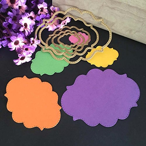 Making Paper Lanterns (Metal Die Cutting Dies Stencil For DIY Scrapbooking Album Paper Card Decor Craft by TOPUNDER A)