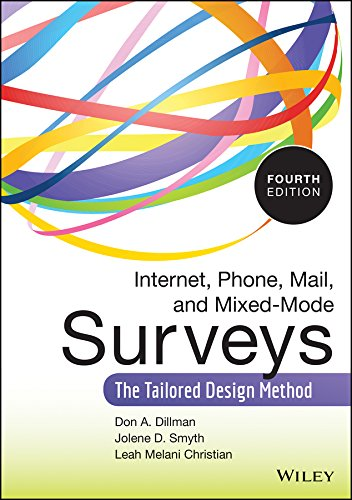 Download Internet, Phone, Mail, and Mixed-Mode Surveys: The Tailored Design Method Pdf