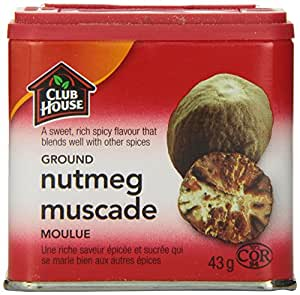 Club House Nutmeg Ground, 43 Gram
