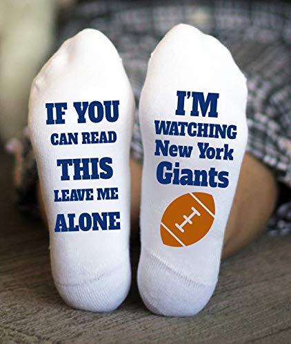 New York Giants Socks Birthday Gifts American Football Game