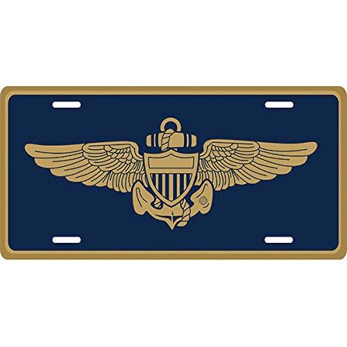 U.S. Navy Aviator Logo License Plate ()