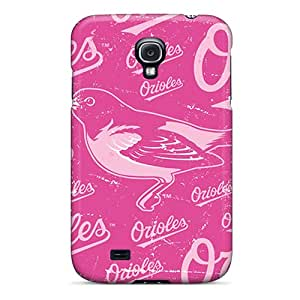 High Quality Mobile Covers For Samsung Galaxy S4 With Support Your Personal Customized Colorful Baltimore Orioles Series LauraAdamicska
