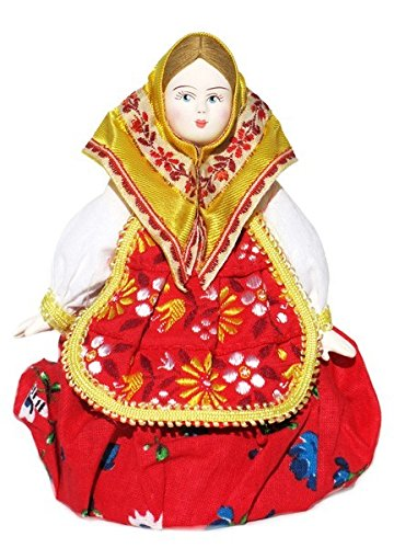 Russian Matryoshka Doll Costume (Russian Porcelain Costume Doll Matryoshka - Small)
