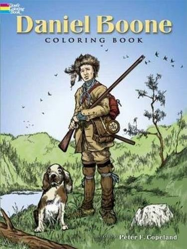 Download Daniel Boone Coloring Book (Dover History Coloring Book) pdf