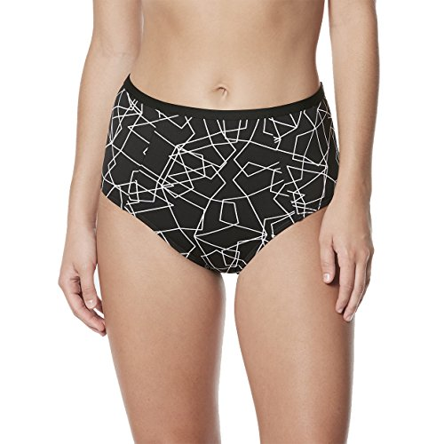 Flare Panties - NIKE NESS8293 Women's Nova Flare High Waist Bottom, Black - Medium