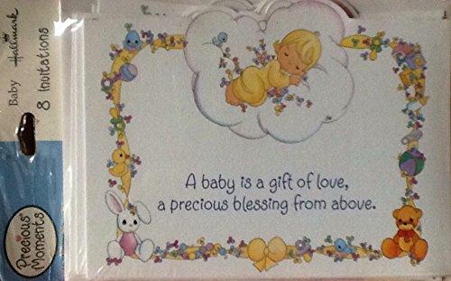 Precious Moments Baby Shower Inviitations ()