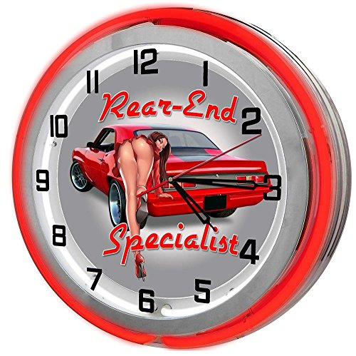 Neon Camaro Clock (Chevrolet Camaro Rear-End Specialist 18