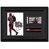 Deadpool Framed 35 mm Film Cell Display Signed Stunning Fan Art Ryan Reynolds Wade / Deadpool