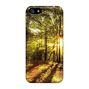 High-quality Durability For Iphone 5C Phone Case Cover (bright Forest)