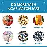 reCAP Mason Jars Lid FLIP Cap   Regular Mouth