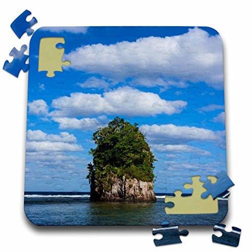 Danita Delimont - American Samoa - Single rock at Coconut Point in Tutuila Island, American Samoa. - 10x10 Inch Puzzle - Point Coconut