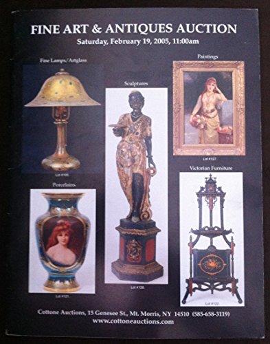 Feb 2005 Art - Cottone Fine Art/Antiques Auction (Feb. 19, 2005)