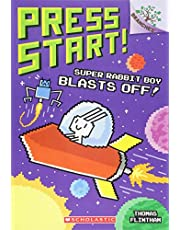 Super Rabbit Boy Blasts Off!: A Branches Book (Press Start! #5), Volume 5