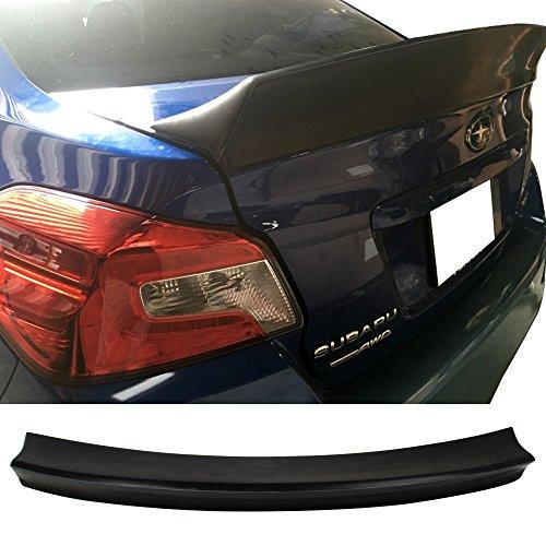 - Trunk Spoiler Fits 2012-2016 Subaru Impreza   D Style Unpainted FRP Trunk Boot Lip Spoiler Wing Deck Lid By IKON MOTORSPORTS   2013 2014 2015