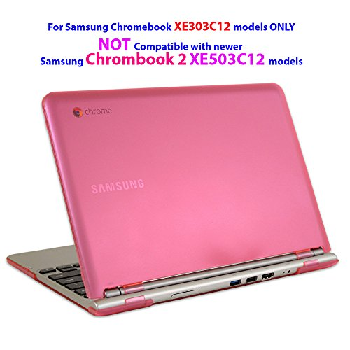 mCover iPearl mCover Hard Shell Case (mCover-Samsung-Chromebook-11.6-PINK)