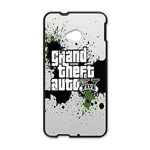 HTC One M7 Case, GTA HTC One M7 Cell phone case Black-PAAQ7559656