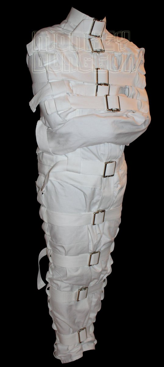 Small- The Mummy full body straight jacket by Monkey Dungeon