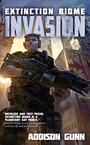 book cover of Extinction Biome: Invasion
