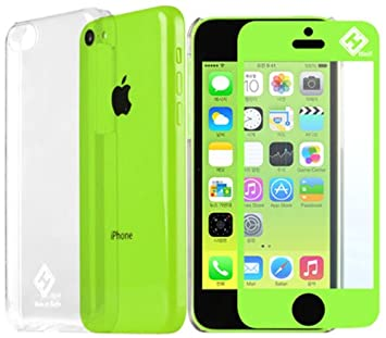 amazon hinh iphone5c crystal liz color lcd protection film green