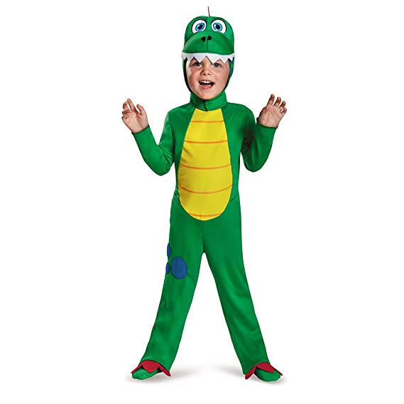 188ae6d92d3 Toddler Green Dinosaur Halloween Costume: Amazon.in: Toys & Games