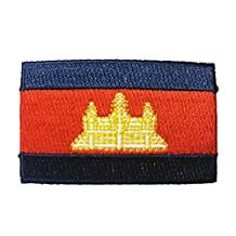 Flag Embroidered Iron on Sew on Badges Patches - Americas