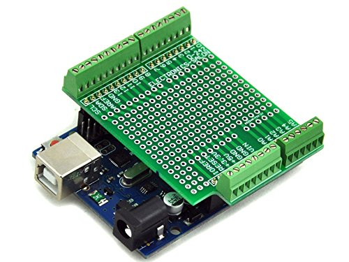 Electronics salon prototype screw shield board kit for