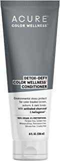 product image for ACURE Detox-Defy Color Wellness Conditioner   100% Vegan   Activated Charcoal & Sunflower Seed Extract - Protects Hair From Environmental Stress & Prevents Color Fade   For Dark Hair   8 Fl Oz