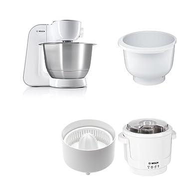 Amazon De Bosch Mum54270de Kuchenmaschine Weiss Silber Kunststoff