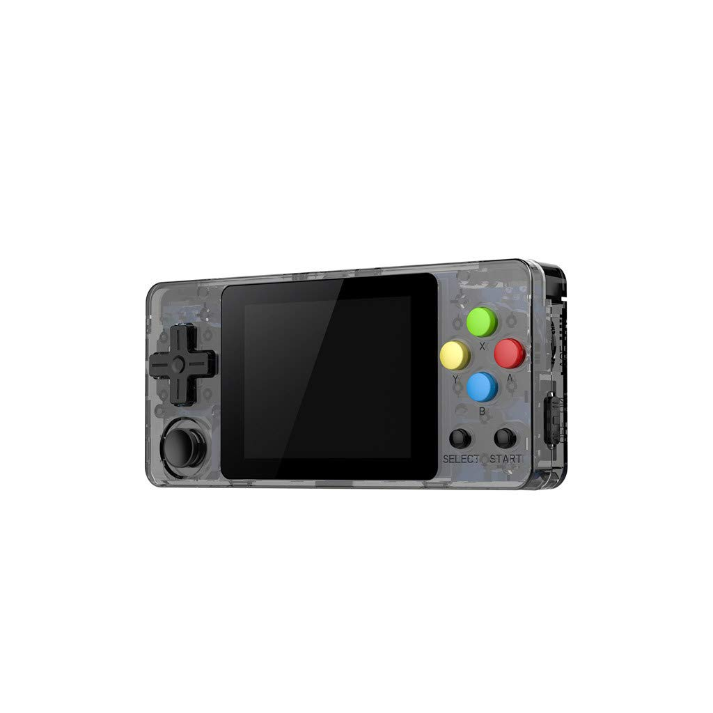 New LDK Game Handheld Gaming Console, Retro Portable Gaming System Handheld Game Console Kids Adults Screen by 2.6 Thumbs Mini Palm Nostalgia Console Children of Family TV Video (2.7 -inch, Gray) by Huangou (Image #4)