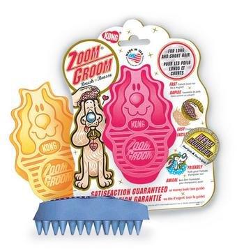 KONG Zoom Groom – Soft Pink, My Pet Supplies
