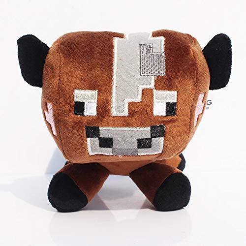 TAKA Movies & TV - Minecraft Toys Minecraft Creeper Cartoon Game Plush Toys Minecraft Skeleton Wolf Steve Cow Ghost Spider Bat Baby Toys 1 PCs for $<!--$21.99-->