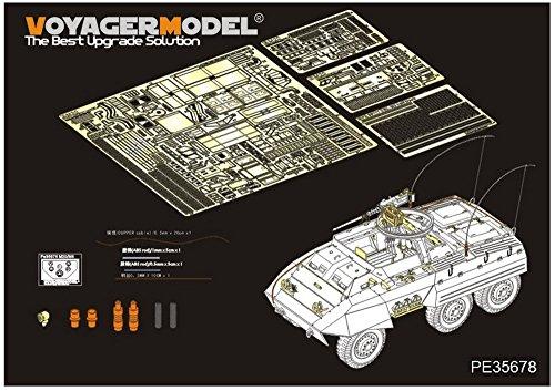 ボイジャーモデル 1/35 第二次世界大戦 アメリカ軍 M20装甲車 エッチング基本セット (タミヤ35234用) プラモデル用パーツ PE35678の商品画像