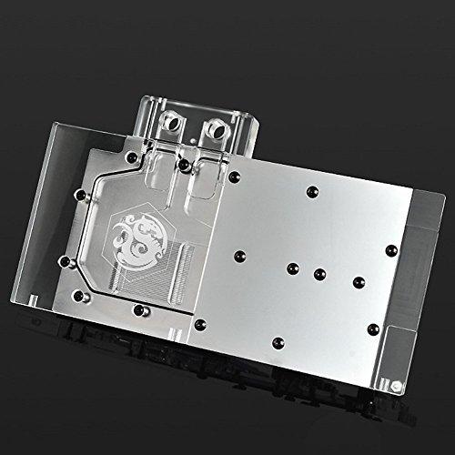 Bitspower GPU Waterblock for EVGA GeForce GTX 980 K|NGP|N ACX 2.0+ (04G-P4-5988-KR) VGA Card, Clear Acrylic