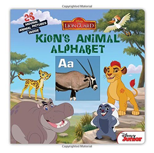 The Lion Guard Kions Animal Alphabet