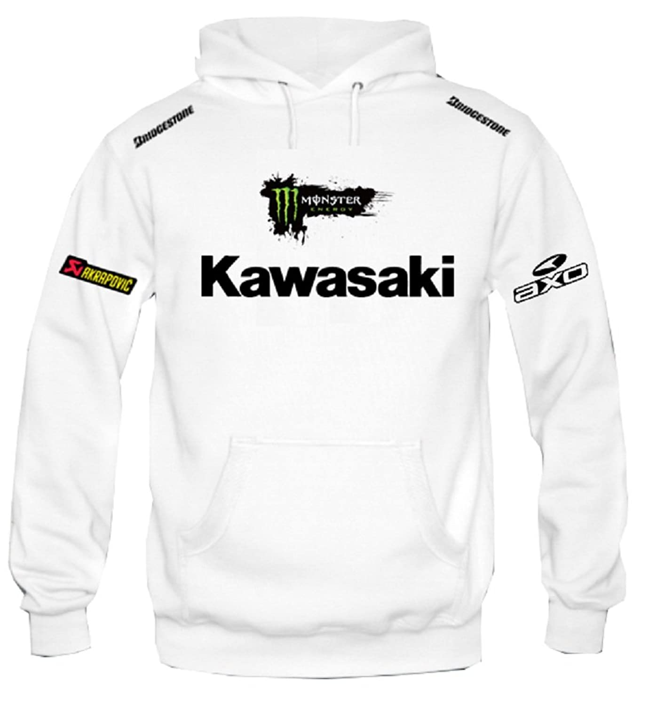 90b3d1099 Sweat à capuche Sweat-shirt KAWASAKI MOTO GP racing rally ...