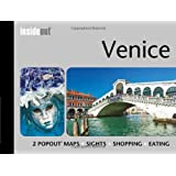 Venice InsideOut Map & Travel Guide: Handy, pocket size Rome city guide for Venice with 2 pop up maps