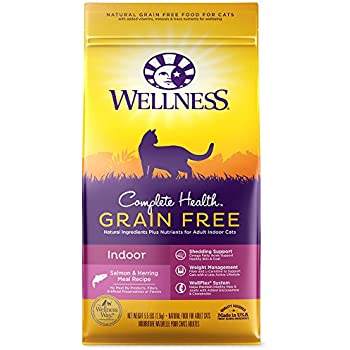 Amazon wellness trufood baked blends natural grain free dry wellness complete health natural grain free dry cat food indoor health salmon herring meal forumfinder Images