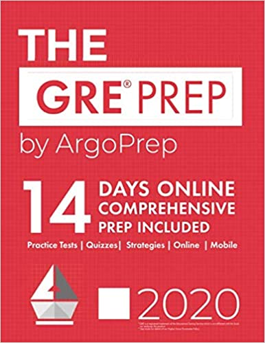 The GRE Prep by ArgoPrep: 14 Days Online Comprehensive Prep Included + Practice Tests + Quizzes + Strategies