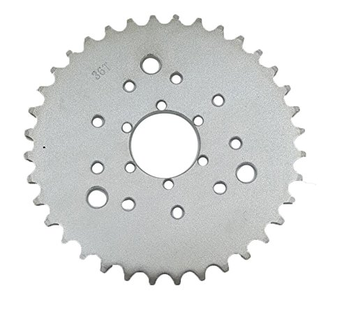 Multifunctional High performance 36 teeth sprocket - gas engine motor motorized bicycle (Tooth Sprocket Rear Wheel)