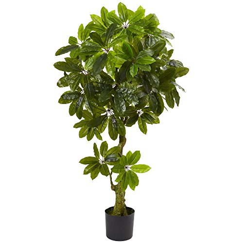 Nearly Natural Artificial Schefflera Tree UV Resistant (Indoor/Outdoor) ()