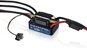 Hobbywing Seaking V3 Water Proof Brushless ESC 120A for Boat #30302360,Get Funshobby Decal