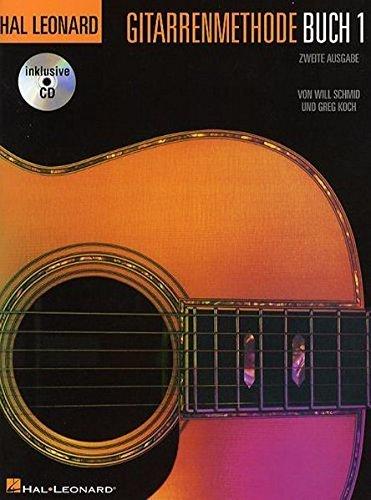 Hal Leonard Guitar Method: Book 1 (German Edition): Lehrmaterial mit CD