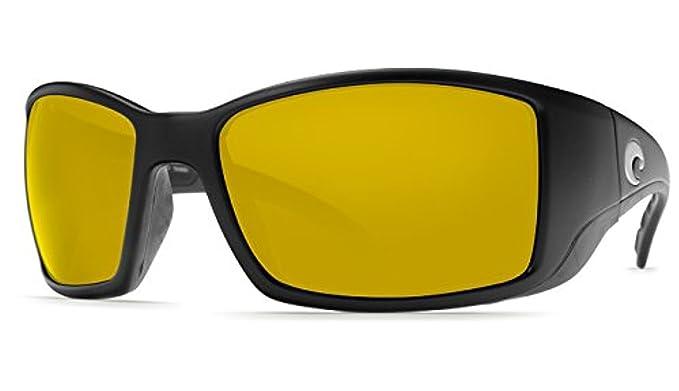 e95cc25d3e6 Costa Blackfin Sunglasses Black Silver Sunrise Mirror 580P   Cleaning Kit
