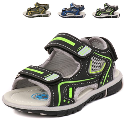 Image of Femizee Toddler Boys Water Sandals Outdoor Sport Beach Shoes